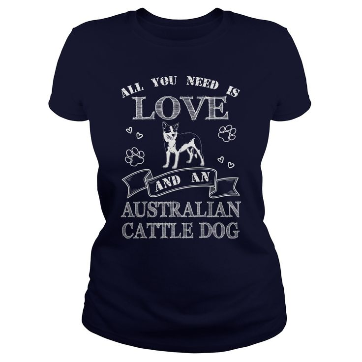 All you need is love and Australian Cattle Dog