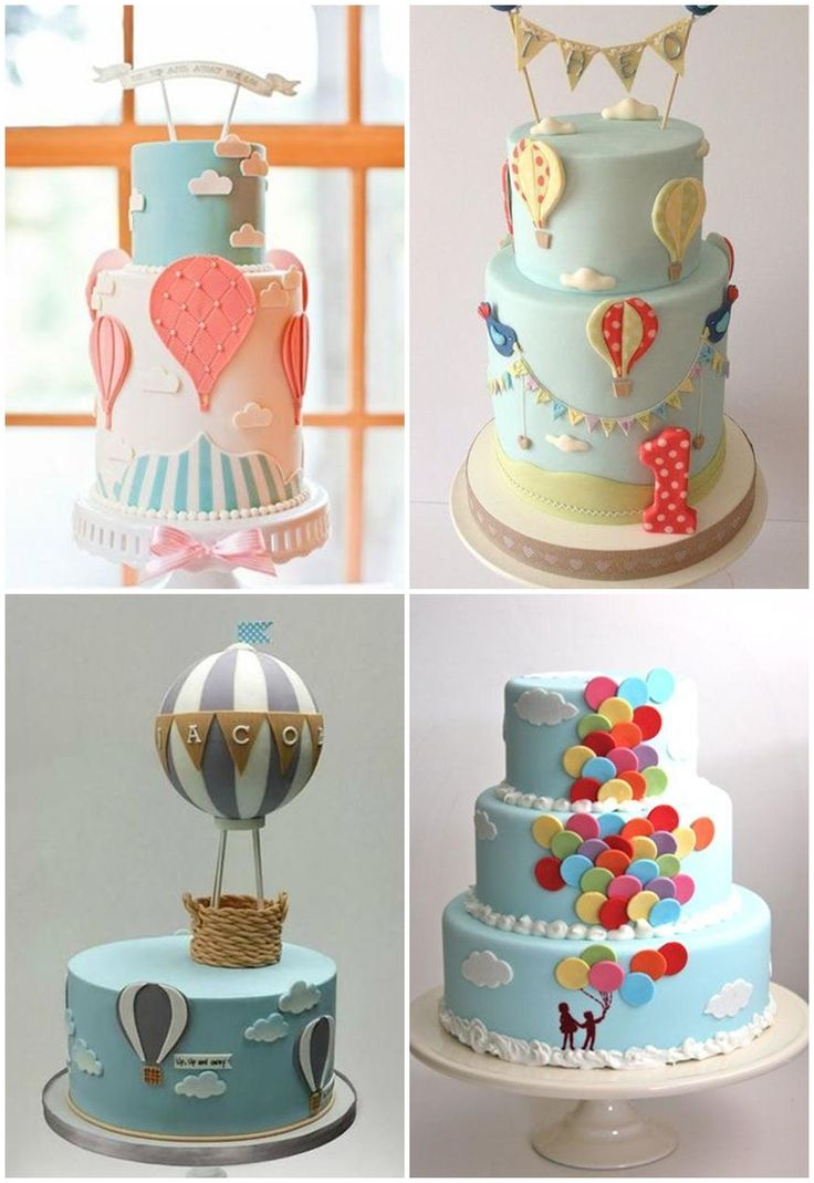25 best ideas about birthday cake toppers on pinterest for Balloon cake decoration