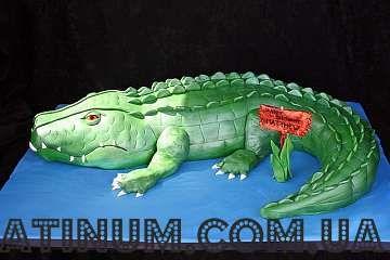 Торт Крокодил 001