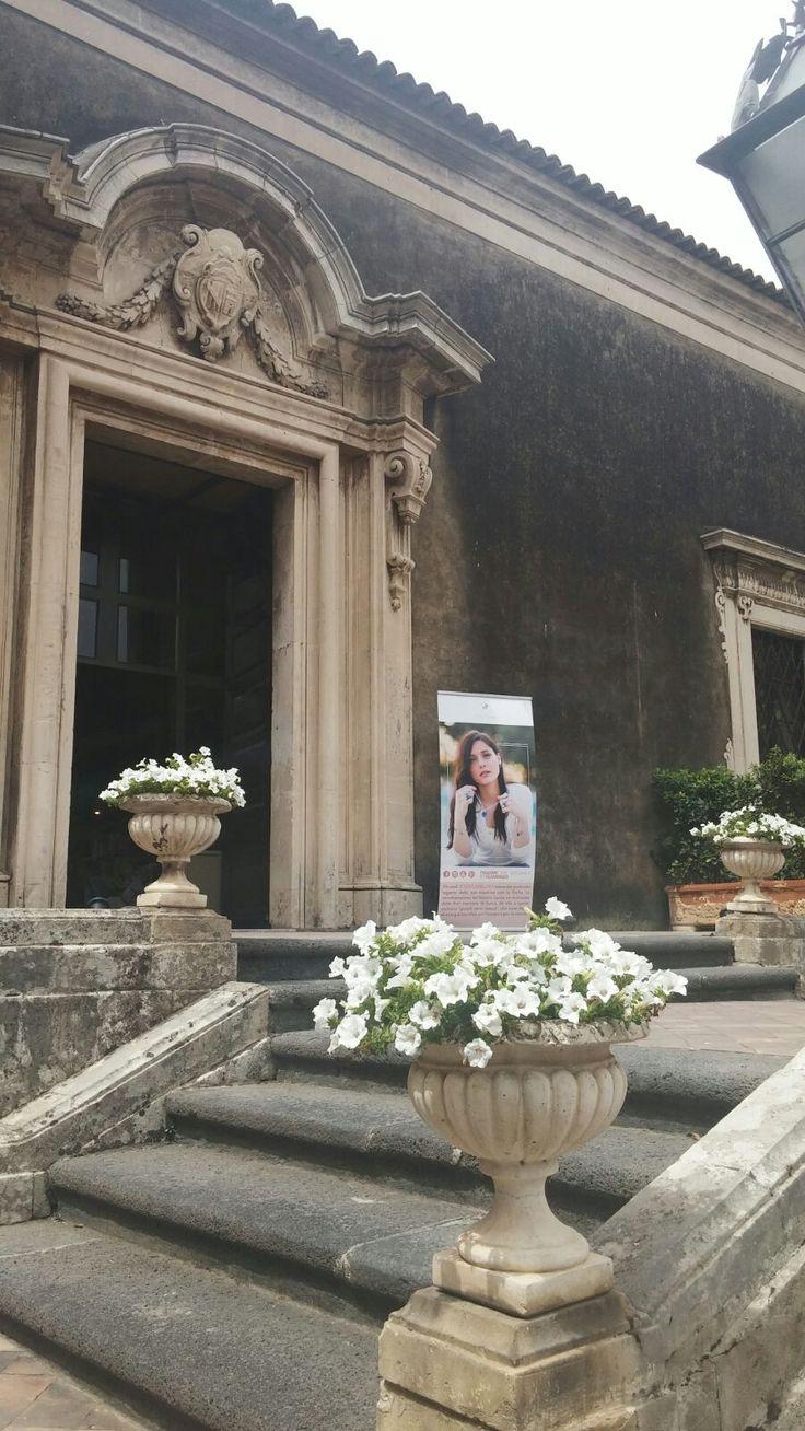 Letizia Cavallaro al #Faber di #Catania - Palazzo Biscari  #Artigianalità e #gioielli #MadeInItaly