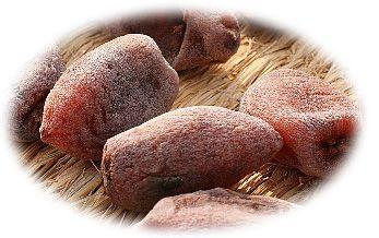 冬の味覚・古老柿(宇治田原町)/古老柿は、「鶴の子柿」という小ぶりの渋柿を使います。