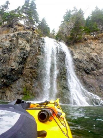Aspy Bay Waterfall, Cape Breton