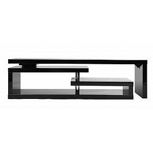 Meuble Tv Design Laque Brillant Noir Pivotant Max V2 En 2020 Meuble Tv Design Laque Meuble Tv Design Et Tv Design