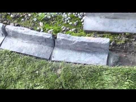 Garden Edging With Mowing Strip From Timaru Garden