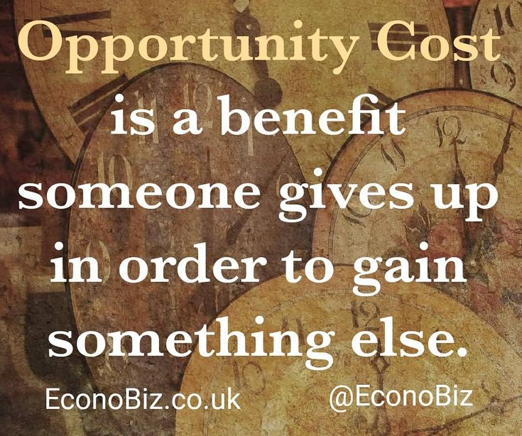 Oppurtunity Cost is commonly known as the basic relationship between scarcity and choice and is a key concept in economics.  Find out more at EconoBiz.co.uk!  #economics #finance #rich #billgates #money #cash #wealth #billionaire #econobiz #ideas #business #cartoon #brain #UK #politics #government #oppurtunity #cost #cartoon #newyork #time #clock #gcse #alevel #learn #quotes #quote #motivation