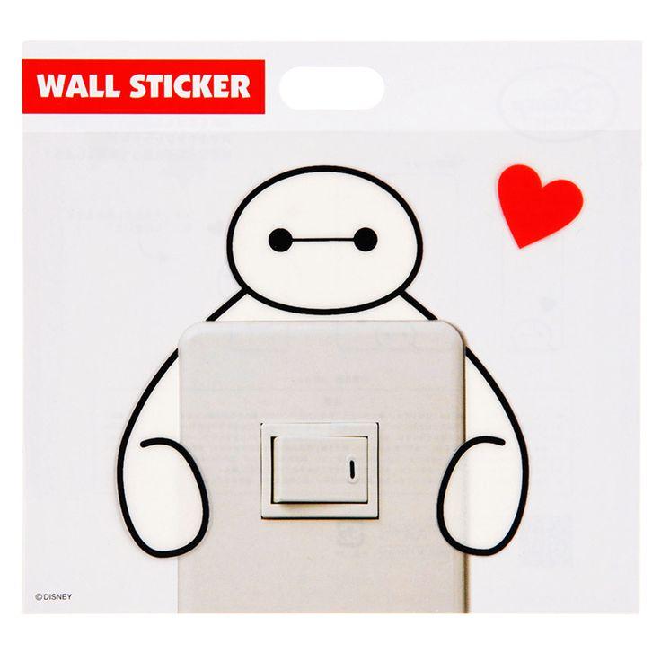 【ディズニーストア】ウォールステッカー ベイマックス | ディズニーグッズ・ギフトの公式通販サイトDisneystore