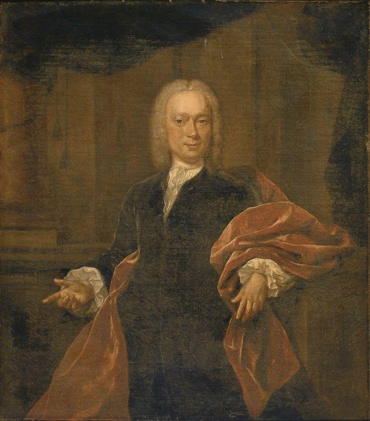 Quinkhard, Jan Maurits - Портрет Johan van Haeften, 1744, Холст, масло Музей Франса Халса в Харлеме