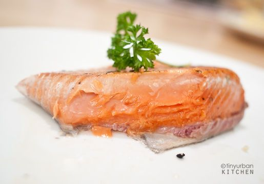 Sous-Vide Salmon in a Magic Cooker