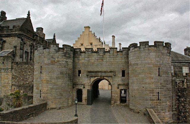 Nel castello di Stirling furono incoronati molti sovrani di Scozia, fra i quali Maria Stuarda nel 1543.