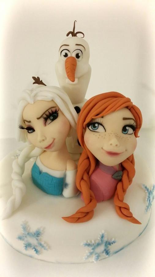 Frozen  - Cake by Zuccherina