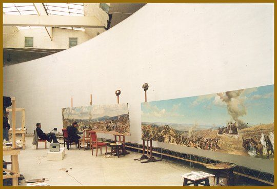 Murals and Panorama paintings