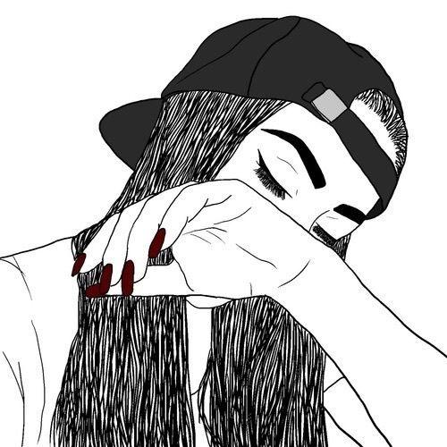 Imagem de girl, drawing, and draw