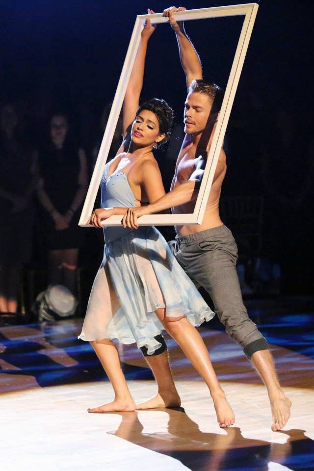 Derek Hough & Bethany Mota - Dancing With the Stars - week 10 - season 19 - fall 2014