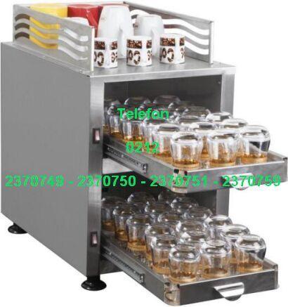 Bardak Isıtma Makinası ABIM2 Satış Telefonu 0212 2370750 - Endüstriyel Bardak Isıtma Makinaları Elektrikli Çay Bardağı Isıtıcıları Fincan Isıtma Dolapları bölümündeki sürme raflı çay bardağı ısıtıcısı yoğun kahvelerde kafelerde otellerde soğuk bardakları ısıtmak için kullanılan gayet kullanışlı ve profesyonel bir bardak ısıtıcısı makinadır - Çay bardağı ısıtma makinaları satışı 0212 2370749