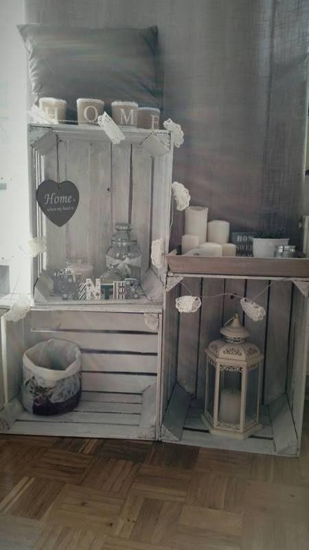 die besten 25 holzkisten ideen auf pinterest kisten regale aus kisten und kiste lagerung. Black Bedroom Furniture Sets. Home Design Ideas