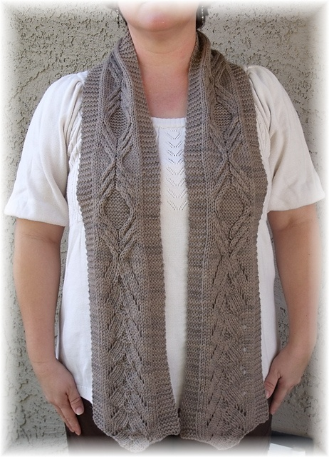 Knitting Scarves From Around The World : Ravelry sand painting pattern by tina sanders