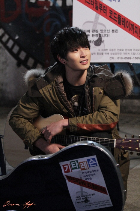 Jin Woon in Dream High 2 :) i already loved him, but watching him in this drama has reaffirmed my love for him all over again. <3