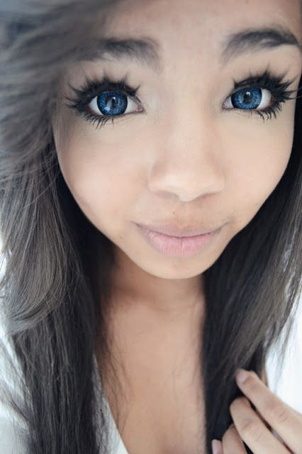 Pin By Uniqso On Blue Colored Contacts Black Contact
