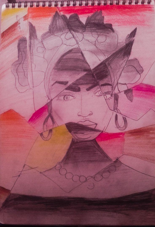 ... Like a broken drawing...