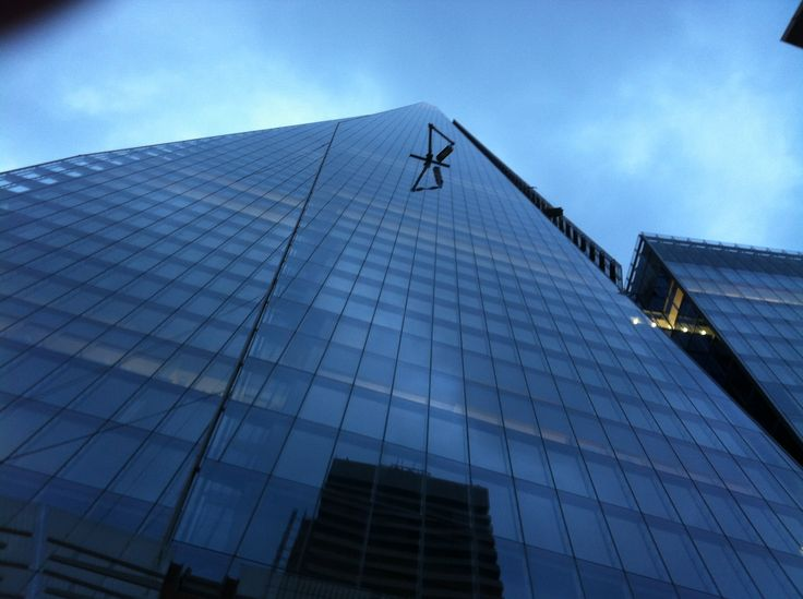 'Don't look up' - Visiting The Shard in London