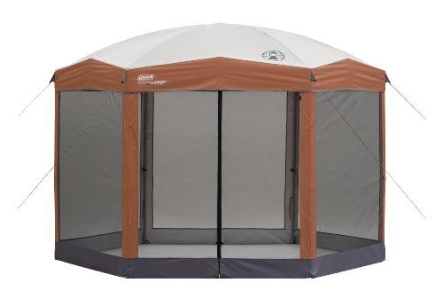 Coleman 12 x 10 Hex Instant Screened Shelter | Best Buy Outdoor Living Products Store