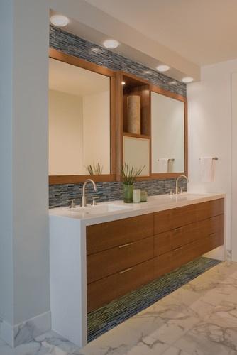 Hillside Bathroom - modern - bathroom - san francisco - Banducci Associates Architects, Inc.