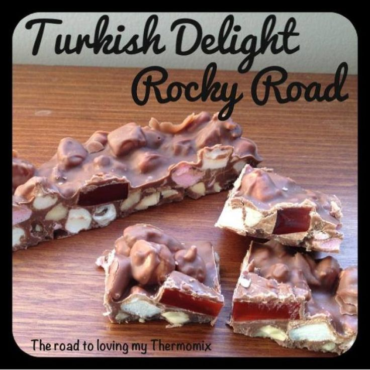 Turkish Delight Rocky Road – The Road to Loving My Thermo Mixer