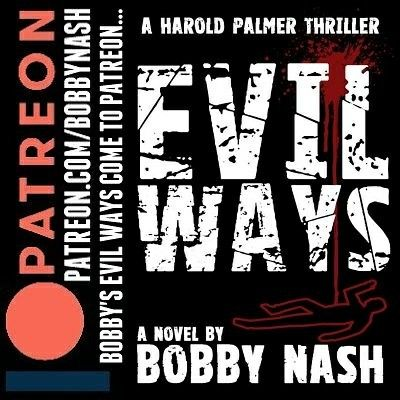 This month, I spread my EVIL WAYS on Patreon! The August free ebook for patrons is EVIL WAYS, my first published novel. Also included is a short essay on THE SOMMERSVILLE SAGA. What is it? What does it mean? I lay out all of the connections to this wonderful little fictional North Georgia hamlet.Want to get it on the action? You know you do! Lucky for you, it's super easy and starts at only $5 a month. Patreon acts like a subscription service for my books. Want to get the latest releases…