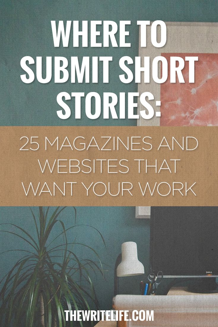 62 best Short Story Writing images on Pinterest   Handwriting ideas     Where to Submit Short Stories  25 Magazines and Online Publications  Short  Story Writing
