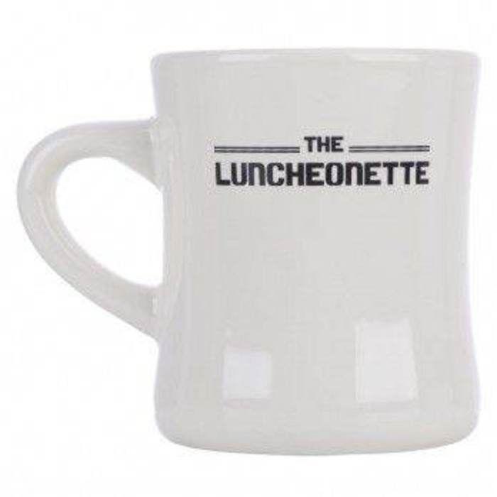 The LUNCHEONETTE Parenthood TV Show Diner Mug NEW Universal Studios Final Season