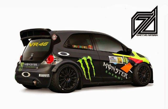 Modifikasi Honda Brio Rally