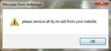 pleaes remove all ity.im ads from your website