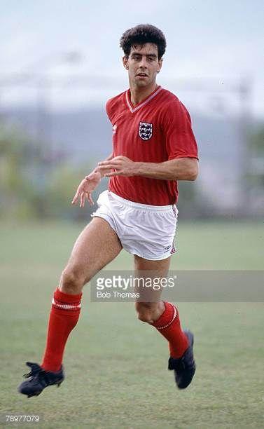 28th May 1985 Friendly Match England Tour Cima Club Monterrey Monterrey 1 v England 4 Gary Stevens England who won 7 England international caps...