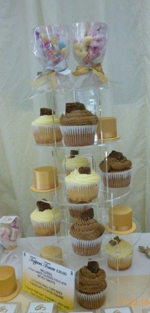 Toppers Tiffin Dessert Tables.