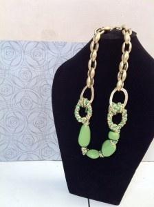 Green Gemstone. Fresh. Necklace. IDR 80.000