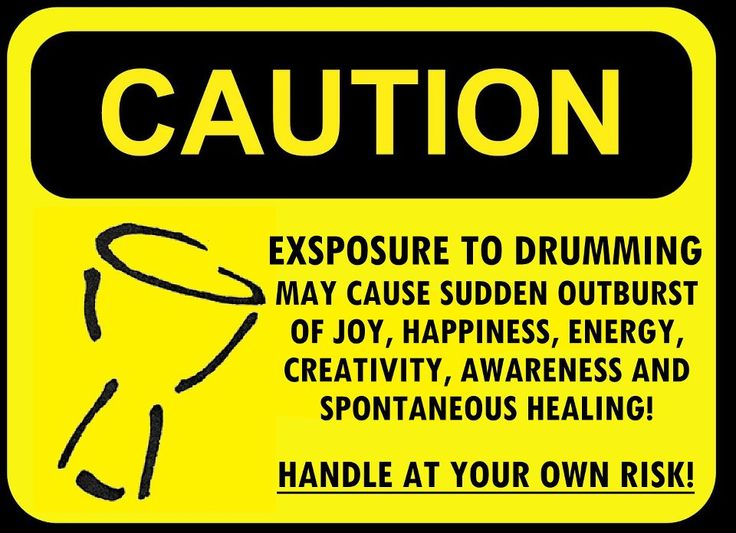 Caution: Hand Drumming can be addictive...