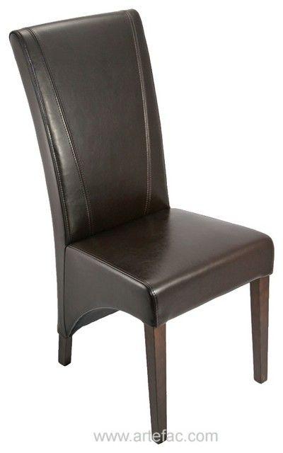 Mit Hohem Rücken Leder Stühlen Esszimmerstühle Esszimmerstühle