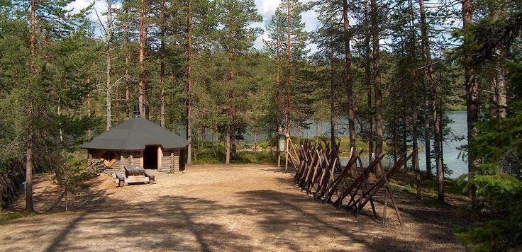 Recreational & Hiking area Soiperoinen in the North of Taivalkoski, Lapland, Finland