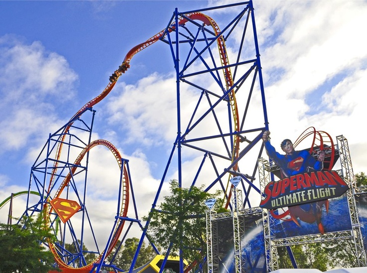 TODAY! 6Flags Superman.Vallejo.CA.Opens7.1.12