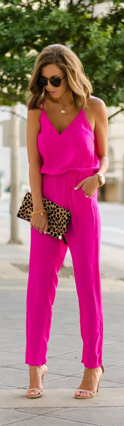 Neon Jumpsuit / Fashion By For The Love Of Fancy