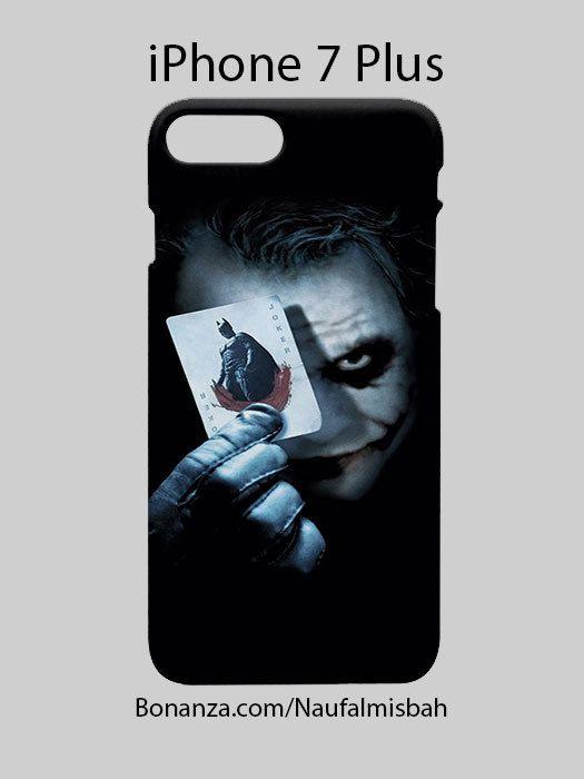Batman Joker Card iPhone 7 PLUS Case Cover Wrap Around