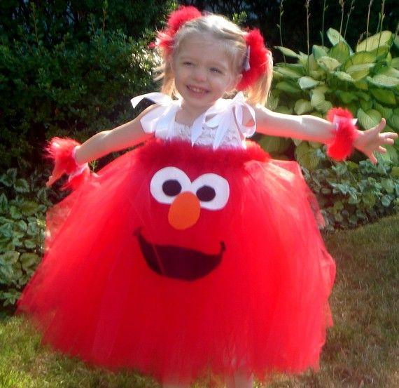 elmo tutu dress | Handmade Boutique ELMO Inspired Tutu Dress Halloween Costume 12m 18m ...