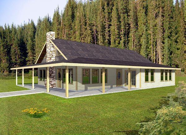 Ranch House Plan 87272