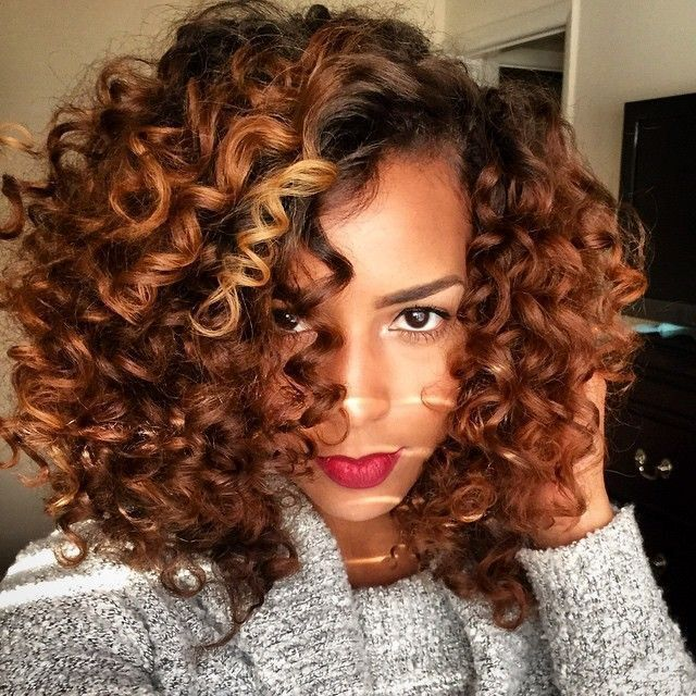 52 best Natural Hair ✂️COLOR images on Pinterest | Natural hair ...
