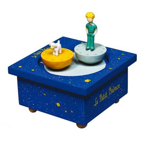 La boîte à musique en bois à l'effigie du Petit Prince, de chez Trousselier, est en vente sur notre site http://www.jeujouet.com/trousselier-boite-a-musique-en-bois-petit-prince.html #BoiteAMusique #PetitPrince #Trousselier #Jeujouet