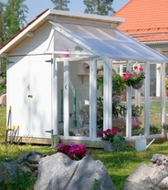 perfect greenhouse and shed combination - Garden Sheds With Greenhouse