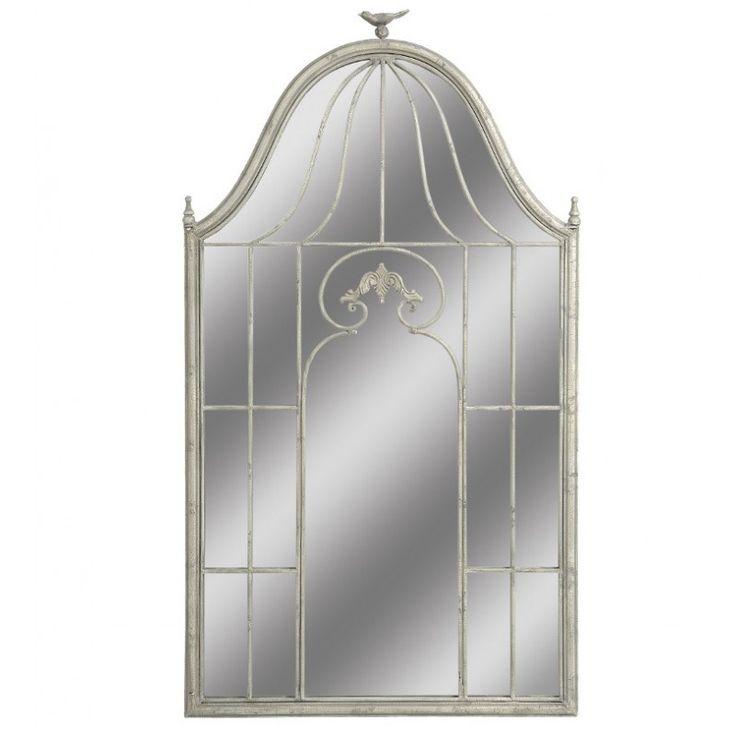 Lustro Grigio Klatka to oryginalne, prowansalskie lustro Belldeco z dekoracyjną, metalową i celowo postarzaną ramą. Dzięki ciekawemu kształtowi oraz nietypowej ramie lustro Grigio Belldeco będzie stylową ozdobą w każdym wnętrzu.