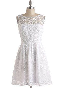 White alika dress