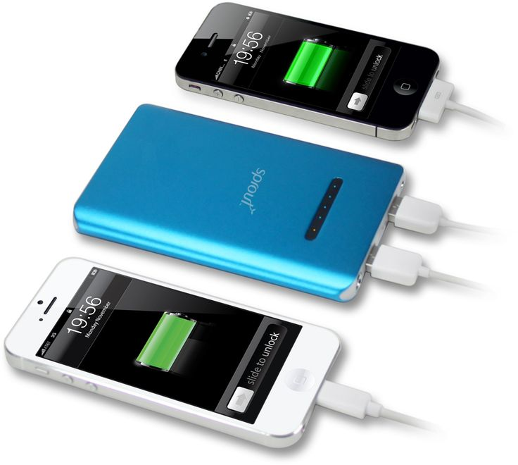 This handy portable device recharges your mobile device anywhere, anytime.   The Powerbank features an inbuilt 6000 mAh capacity battery to give your mobile phone, tablet, PDA, MP3 players, PSP or GPS navigator a much needed boost. #sprout #freedomtogrow #device #powerbank #charger #blue #iphone #iphone6 #mobile #tablet