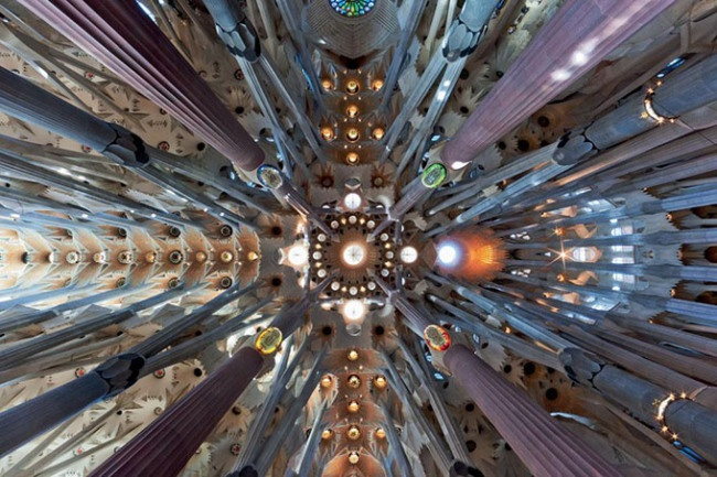 Sagrada Família Cathedral in Barcelona, Spain